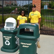 Recycling and Compost Bins